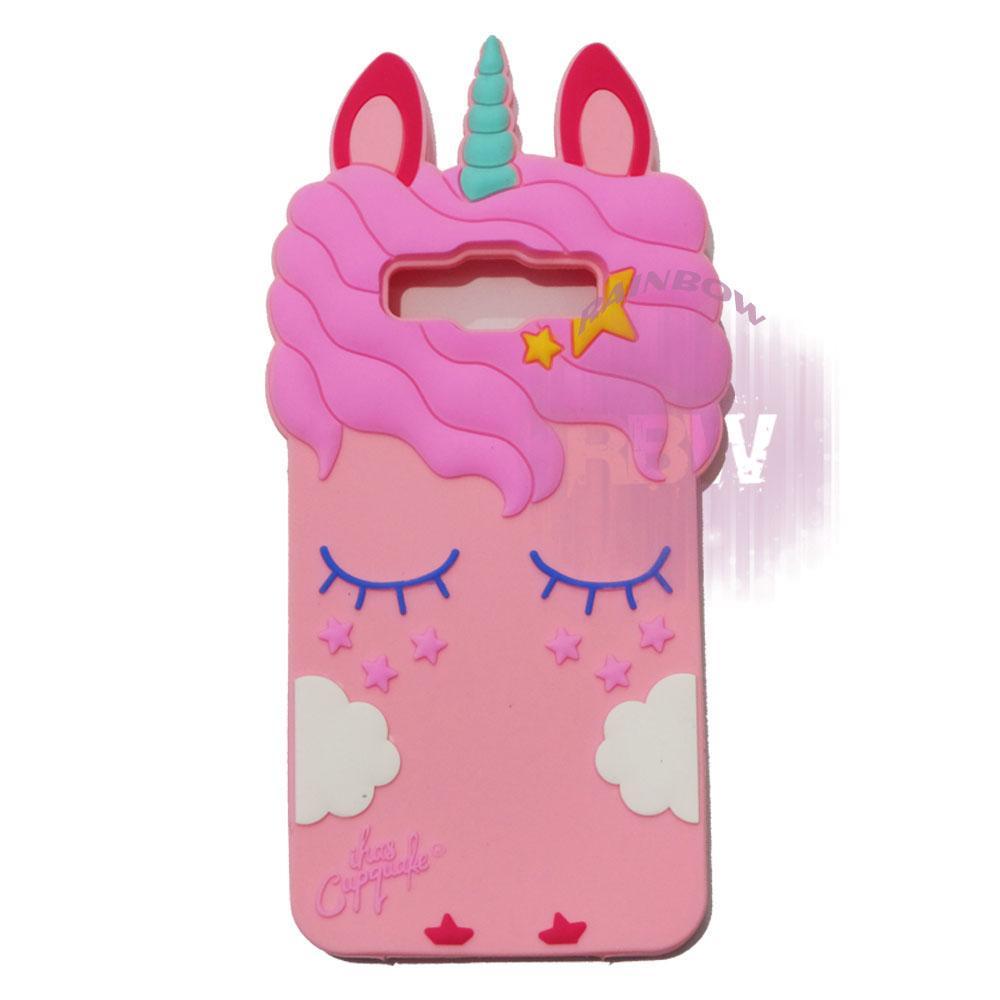 Rainbow Silicone 3D Case Samsung Galaxy J2 Prime / Soft Case Boneka Lucu / Casing Unik Kuda Poni / Case Hp / Silikon Casing / Casing Samsung J2 Prime - Kuda Poni