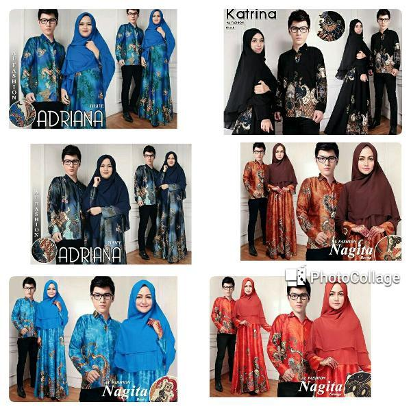 Promo Hari Ini Atk Cp Adriana Couple Mama Papa Batik Songket Etnik Gamis Syari Kemeja Pria Gaun