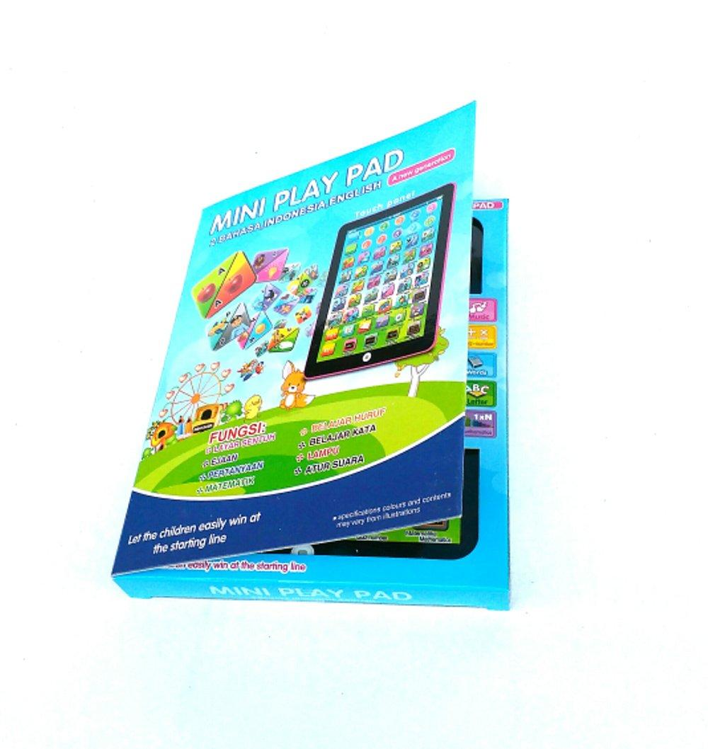 Mini Playpad Edukasi 2 Bahasa - Mini Play Ipad Education Kids 2 Bahasa