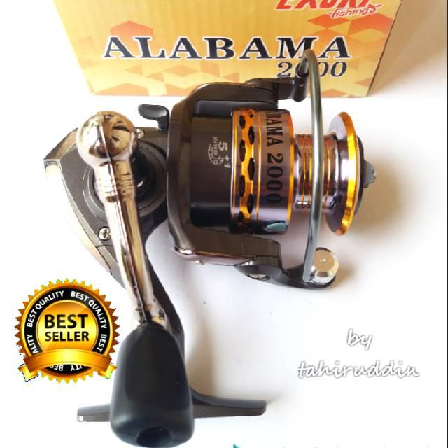 Reel EXORI ALABAMA 2000 Power Handle Variasi Tidak Ada