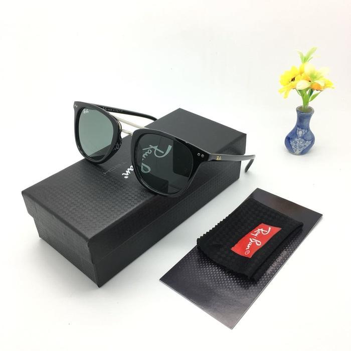 Kacamata / Sunglass Pria Wanita Rb M-9907 Fullset + Cairan Pembersih