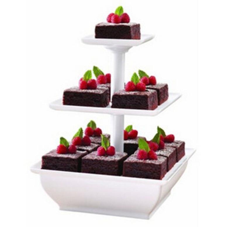 Kado Unik-- Snack Server Etalase Kue 3 Tingkat / Penyimpanan Makanan / Etalase Kue / Snack Server / Etalase Kue 3 Tingkat / Rak Aneka Kue 3 Tingkat Murah / Penyaji Kue