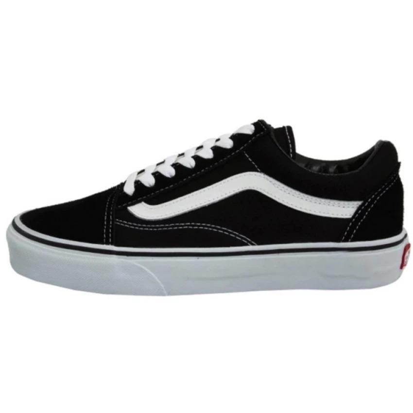 Lingling Shop Sepatu Fashion Sneaker Old School Lifestyle - Black