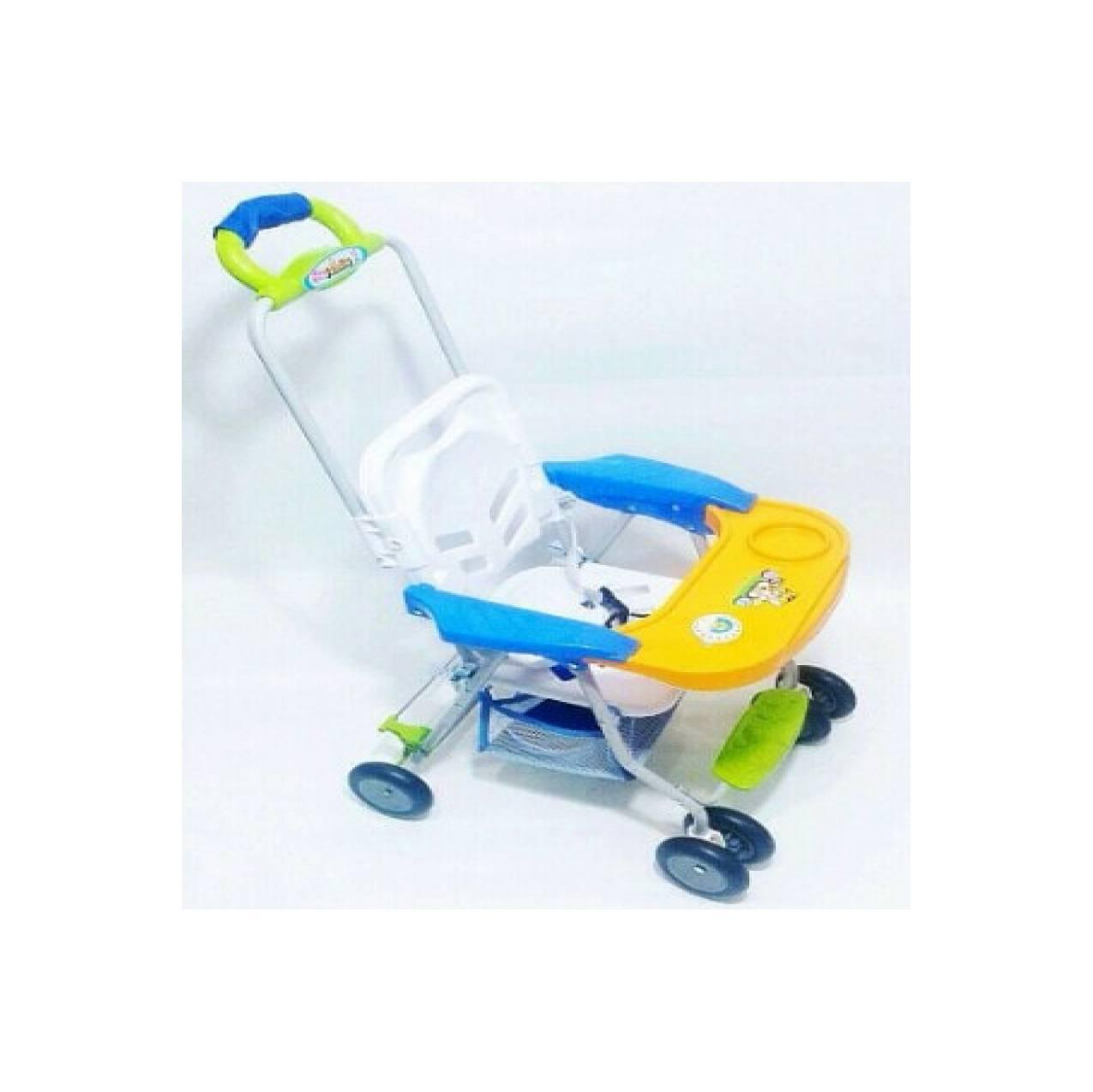 Kursi Dorong Roda Kereta Meja Makan Bayi Family Stroller Baby Chair