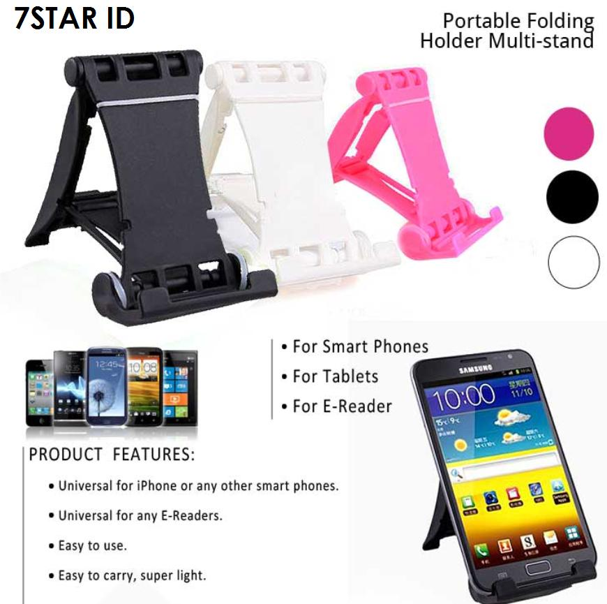 Multi Stand Holder Hp 7STAR - Dudukan Hp Model Kursi Pantai Holder Universal For Smartphone -