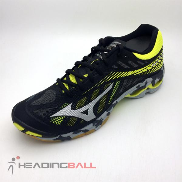Sepatu Volley Mizuno Original Wave Lightning Z4 BlackSilver V1GA180005 63901c0283