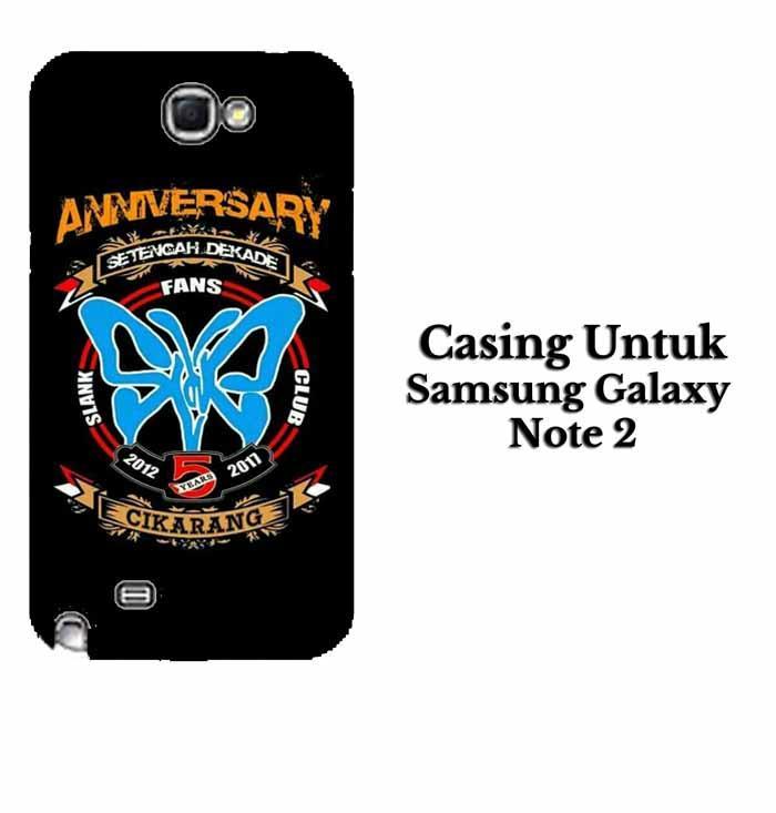 Casing SAMSUNG NOTE 2 SLANK CIKARANG Hardcase Custom Case Se7enstores