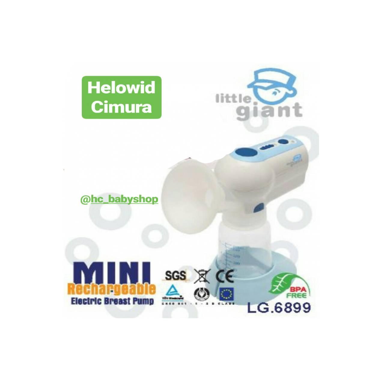 Little Giant Mini Electrik Breast Pump Rechargeable Lg6899 Update Obebe Electronic 3 Levels Battery