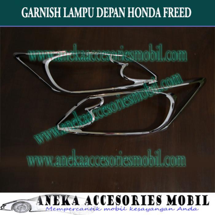 Garnish Lampu depan dan Belakang Mobil Honda Freed