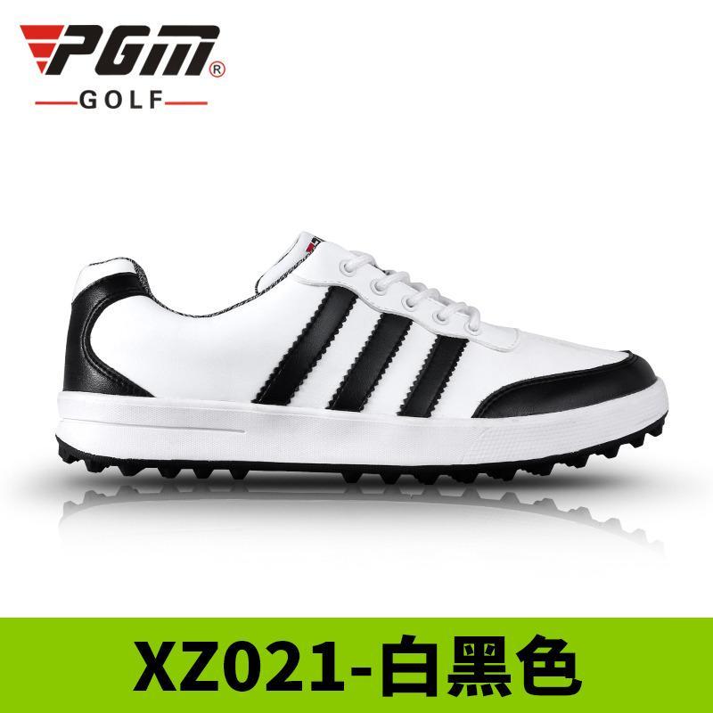 PGM Sepatu Golf Model Pria (Putih Hitam) (Putih Hitam) 808f898f7a