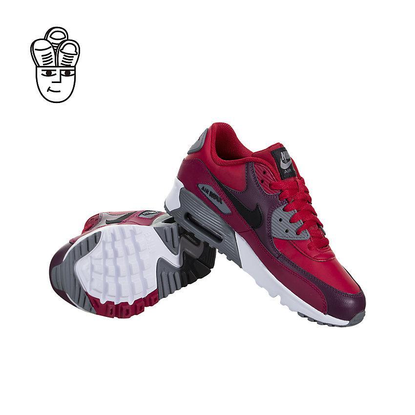 NIKE AIR MAX 90 LTR Retro Sepatu Anak-anak Yang Lebih Besar 833412-601-SH