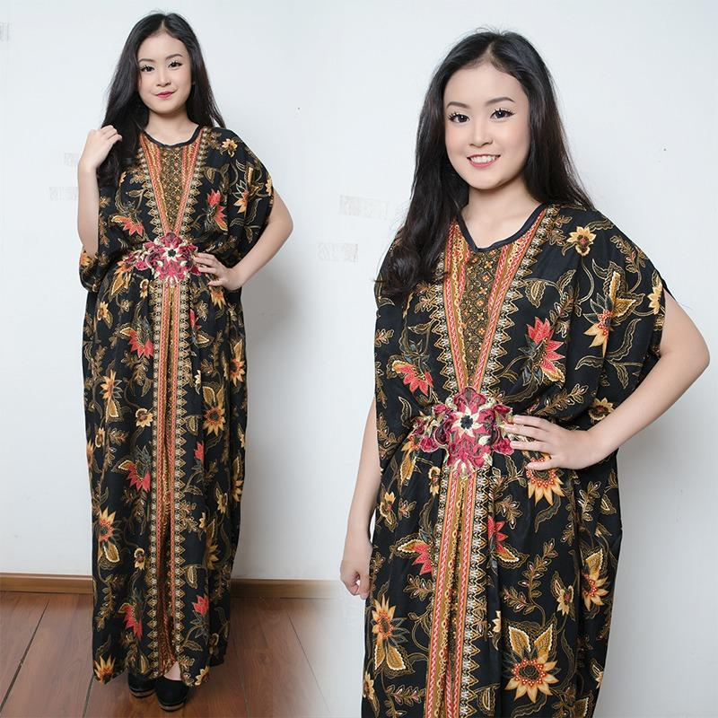 SB Collection Dress Maxi Aida Longdress Kaftan Gamis Jumbo Batik Wanita
