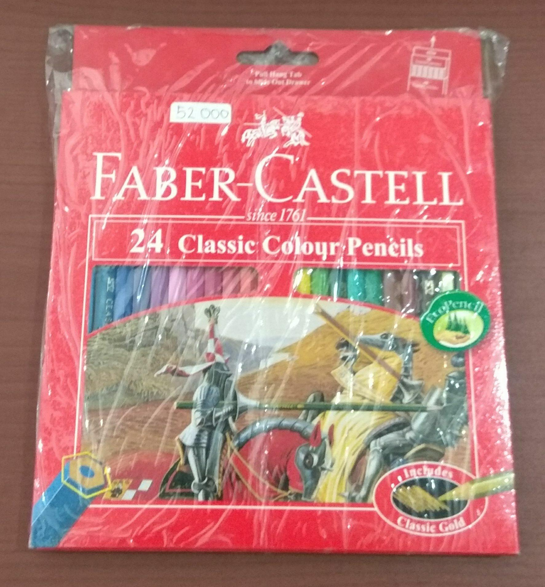 Pensil warna Faber Castell isi 24 Classic