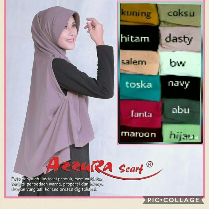 LAGI DISKON !! Khimar Azzura / Cardi Azzura Best Seller Diskon Muslimah Fashion Promo Wanita Hijab Jilbab Ramadhan