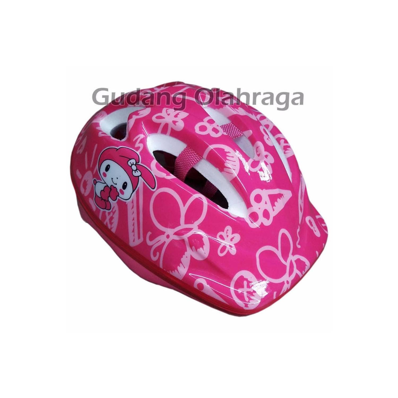 PROMO LIMITED Helm Sepatu Roda Anak Karakter Helm Sepeda Anak LARIS