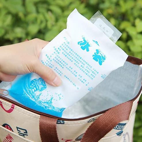 Ice Gel Cooler / Ice Gel Pack / Ice Cool Gel Bag 400ml Bisa Untuk Penghangat Tahan Lama (Bukan Gabag)- Jelly Gel Es Pendingin Botol / Es Gel Penghangat ASI ...