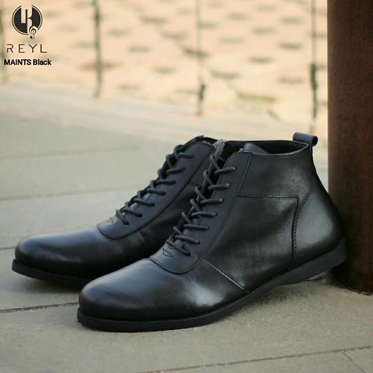Sepatu Pria REYL Lick Mocasin Brown Slipon Casual Loafers Santai Kerja Sepatu Kantor Pria Kulit Asli
