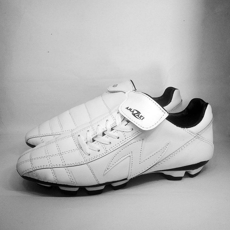 Sepatu Bola Warna Putih - Amazaki Gigas White Bola 2