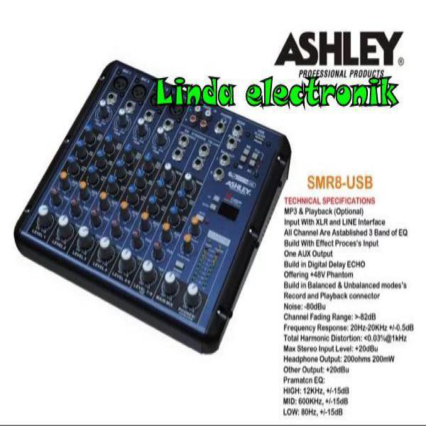 MIXER ASHLEY SMR8 USB