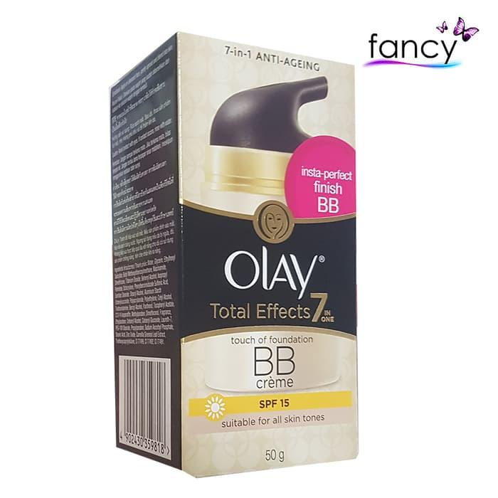 Olay Total Effect 50gr BB Creme Touch of Foundation SPF15 / BB Creme Olay Total Effect 50gr / Foundation SPF15 Olay / bb cream olay
