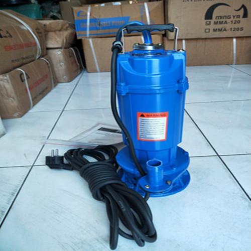 MAXPUMP Mesin Pompa Air Celup Submersible Pump 0.55hp 1 Inch Non auto Manual Pompa Celup Air Kotor Atau Bersih 1