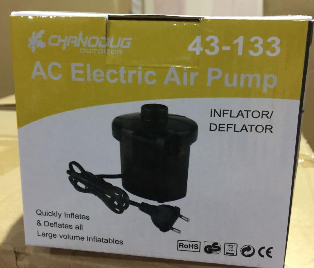 Pompa Angin & Vacuum Elektrik 2 in 1 - Electric Air Pump Sofabed Airbed