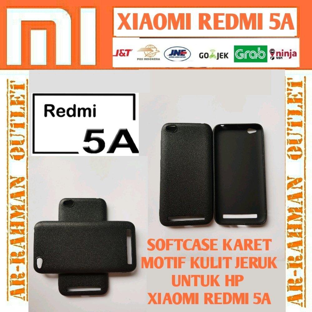 Xiaomi mi5a redmi5a redmi 5a biasa 2gb 16gb casing matte motif kulit jeruk leather anti crack shock case cover armor softcase tpu handphone hp silikon di lapak ARRAHMAN OUTLET raihanalbatawi