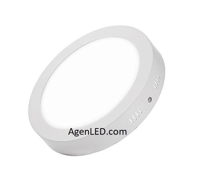 NECO Lampu downlight LED Panel Outbow Bulat 12W Putih 12 W Watt 12Watt