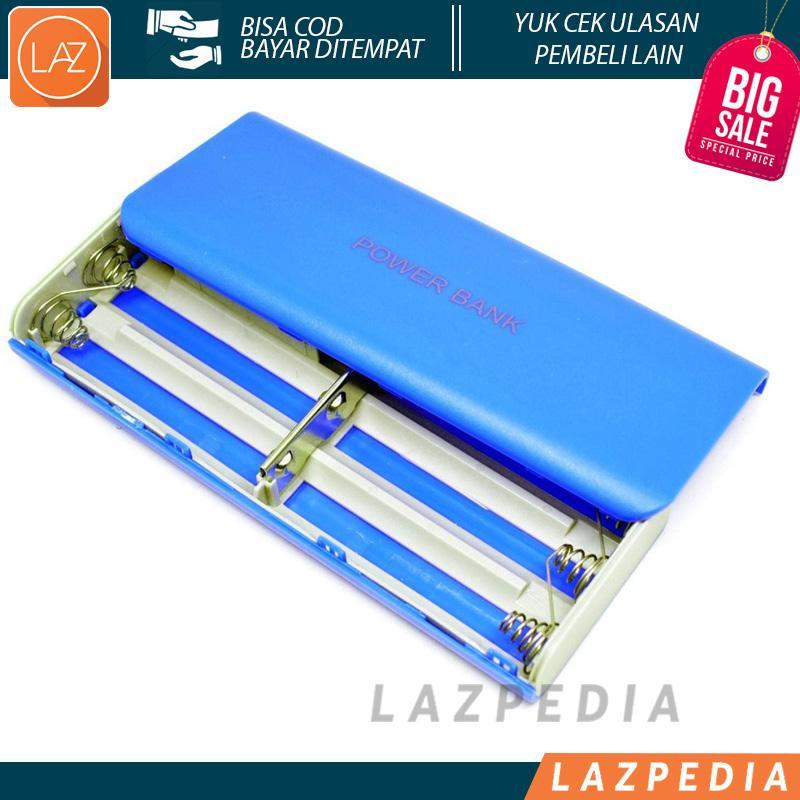 Laz COD - Case Power Bank untuk 5Pcs 18650 Power Bank Terbaru Design Menarik Hadir Dengan Berat Yang Ringan Mudah Untuk di Bawa Kemana Saja - Lazpedia A430