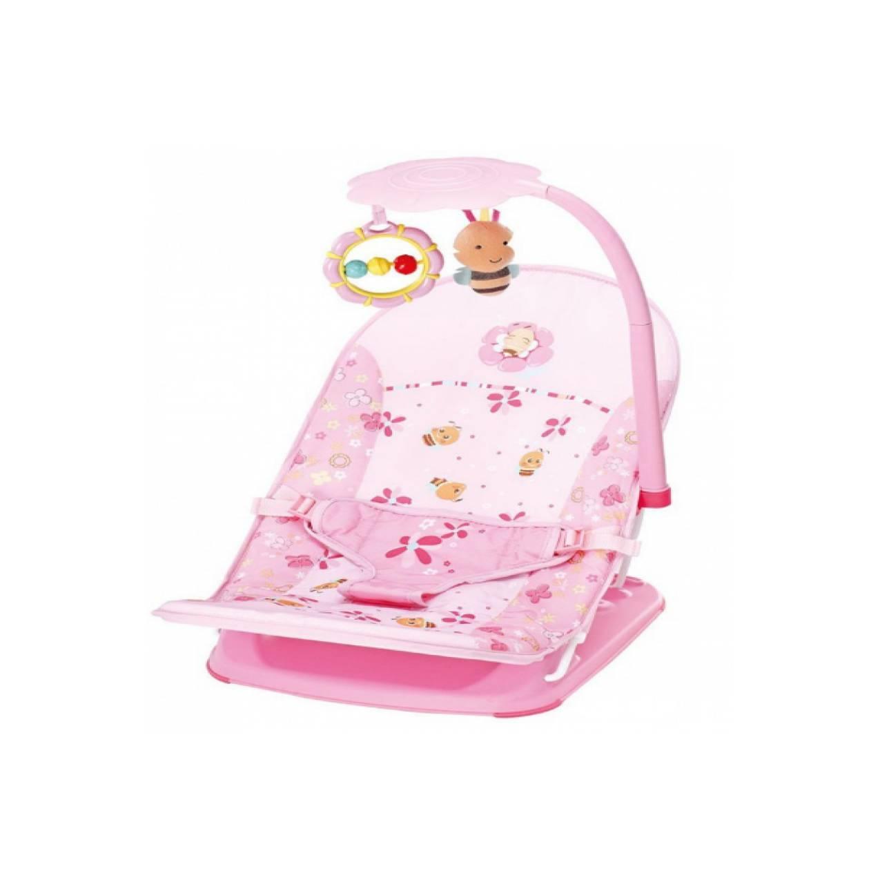 Mastela Fold Up Infant Seat+Toys Pink /Bouncer / Kursi Santai Bayi(SC)