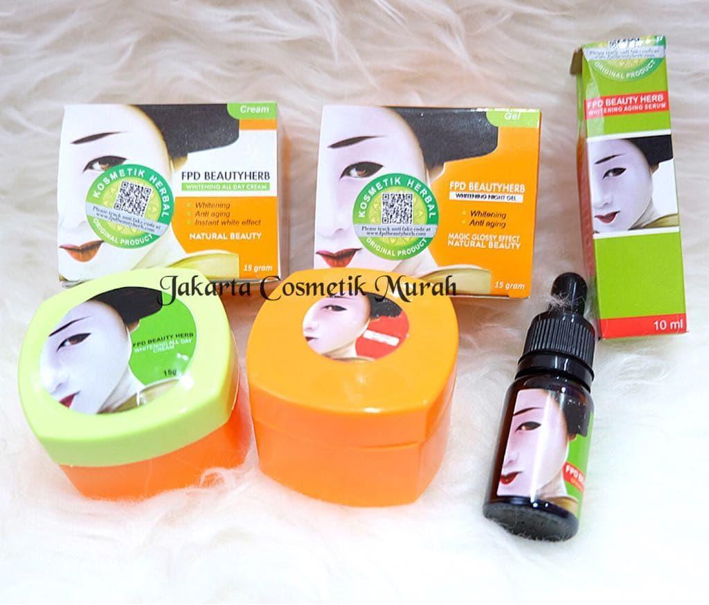 Paket Komplit FPD / Paket Magic Glossy (Cream Siang Malam Serum)