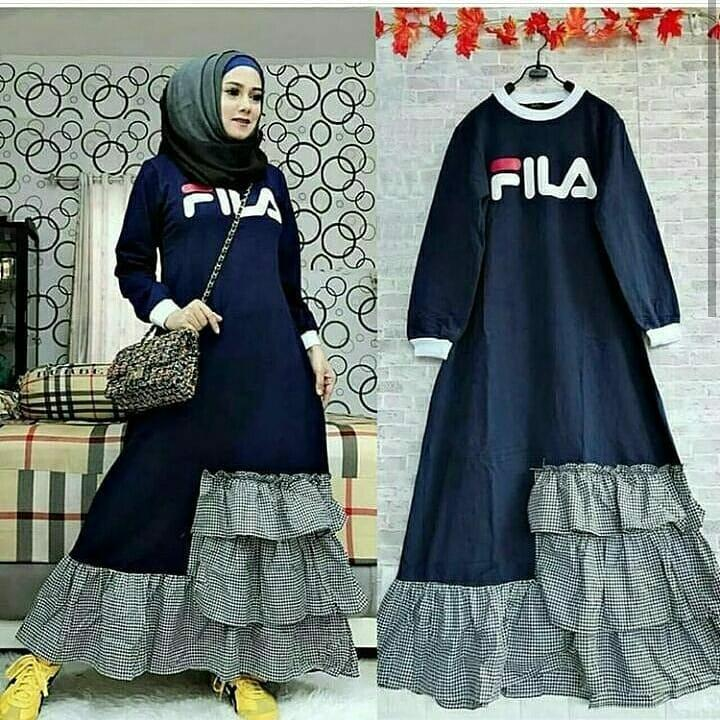 Buy Sell Cheapest Gamis Fila Best Quality Product Deals