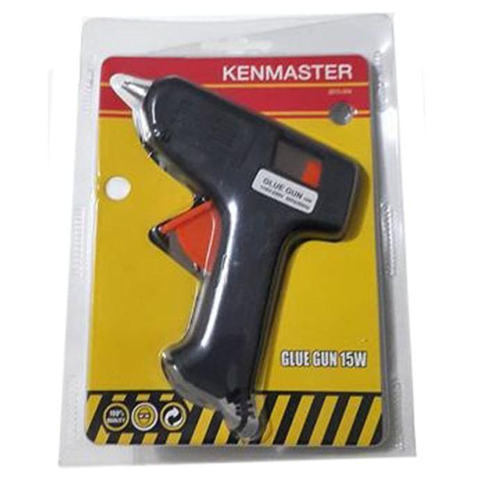 Kenmaster Glue Gun Listrik 15 Watt Lem Tembak