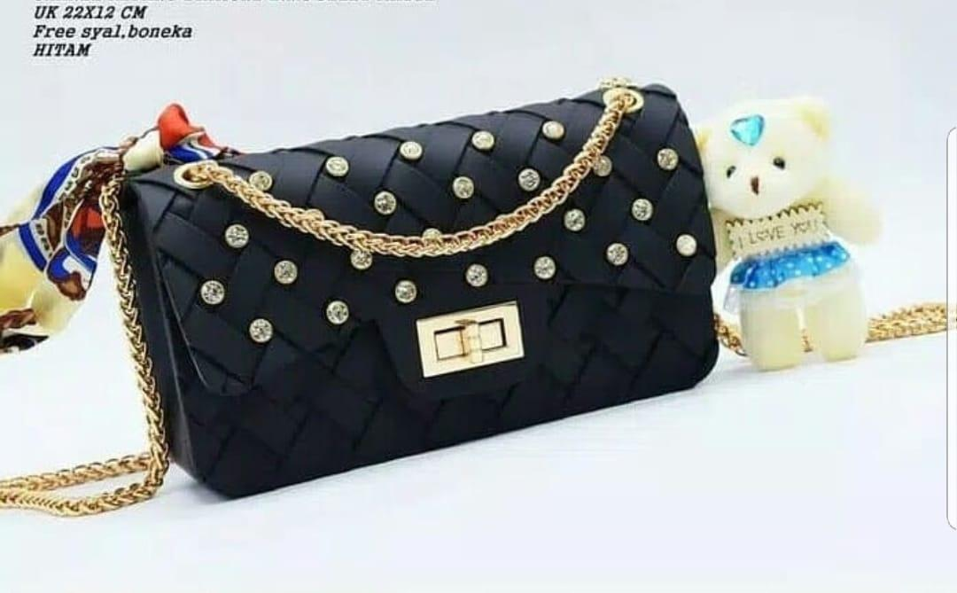 TAS JELLY MATTE WEBE ANYAM DIAMOND UK 22 CM
