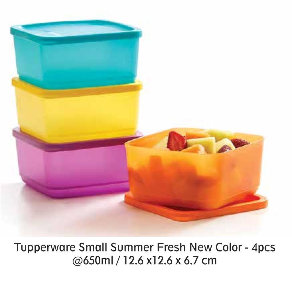 Tupperware Small Summer Fresh New Color (4) (PROMO)
