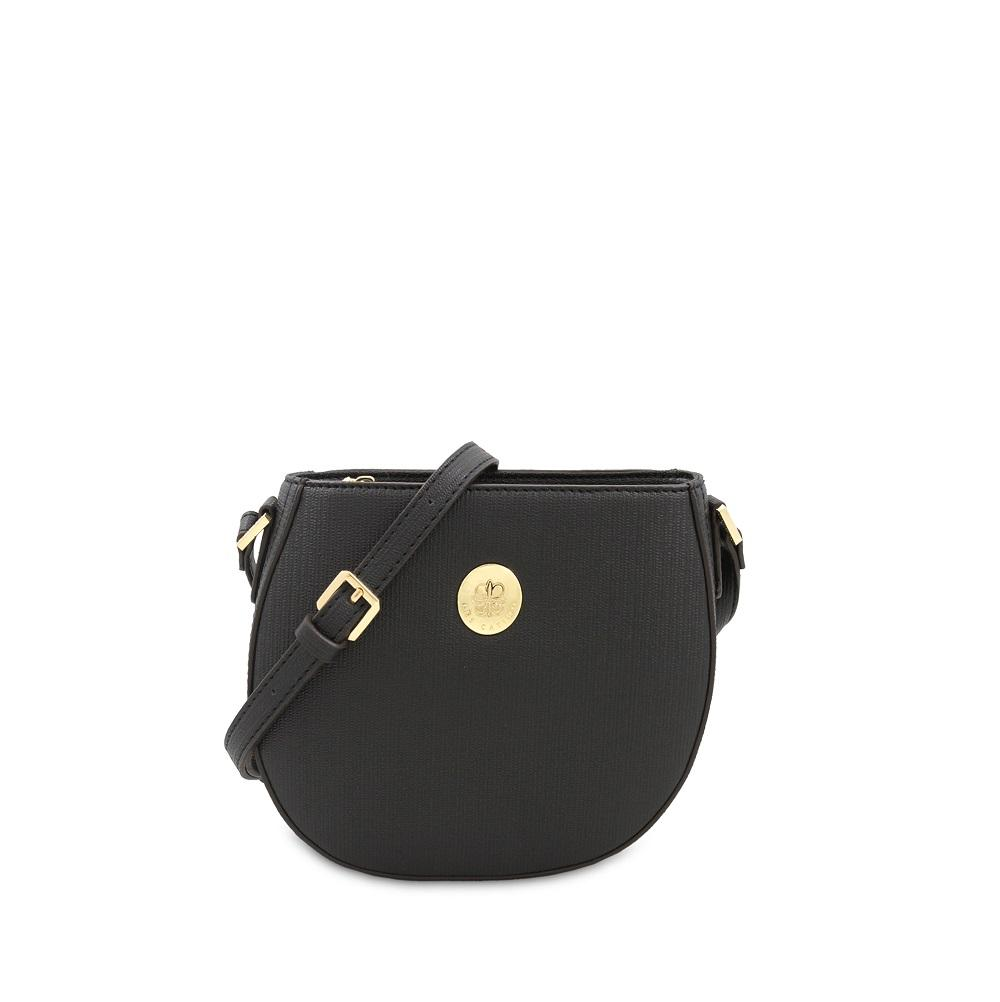 Buy Sell Cheapest Les Catino Arabella Best Quality Product Deals Shanghai Gold Mini Crossbody Black Paris Sthonore