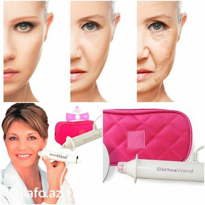 DERMAWAND Setrika Wajah / Alat Pengencang Kulit Wajah dan Penghilang Kerutan Wajah Oxygenating sistem Facial Treatment Terbaru
