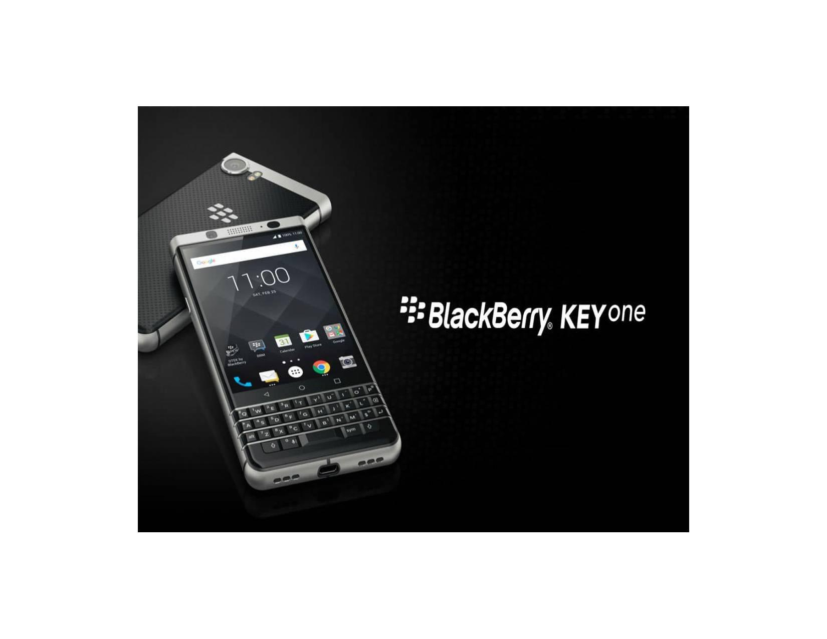 BLACKBERRY KEYONE RAM 4GB ROM 64GB FULL BLACK EDITION GARANSI RESMI