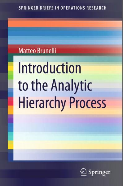 Best Seller - 5 In 1 Paket Buku Ebook Analytic Hierarchy Process - Ahp - ready stock