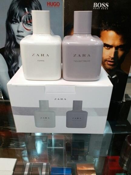 Original Parfum Zara set isi 2pcs Zara Femme dan Zara Twilight Mauve