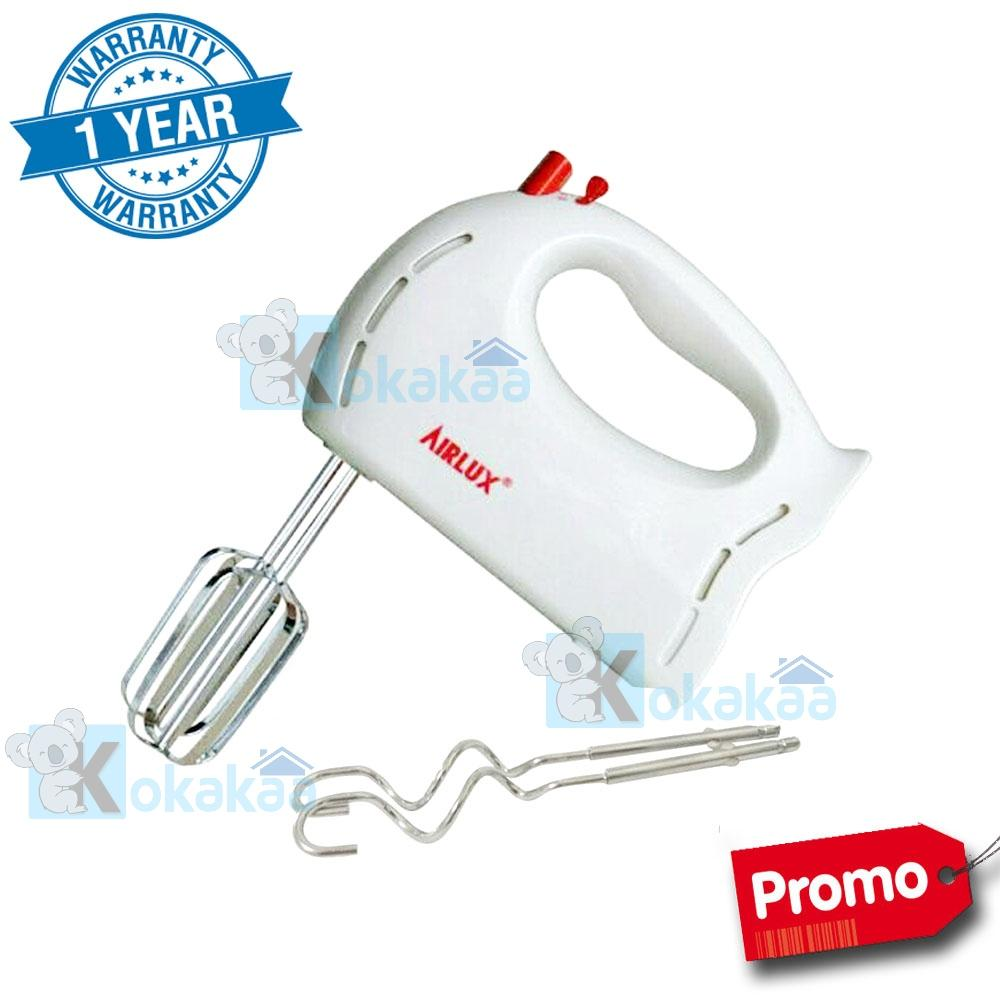 AirLux Hand Mixer HM-3060 A with Extra Pengaduk Promo