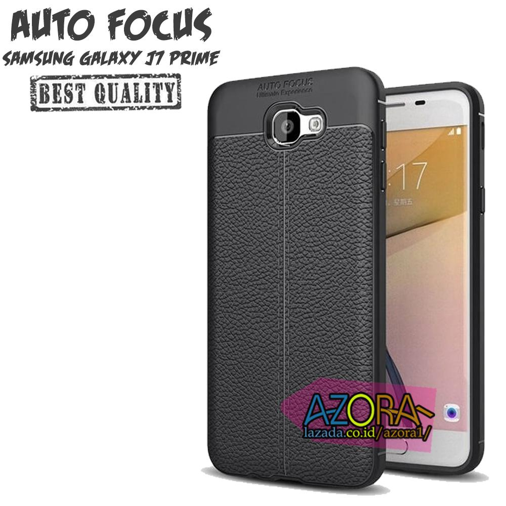 Case Auto Focus Samsung Galaxy J7 Prime Leather Experience Slim Ultimate