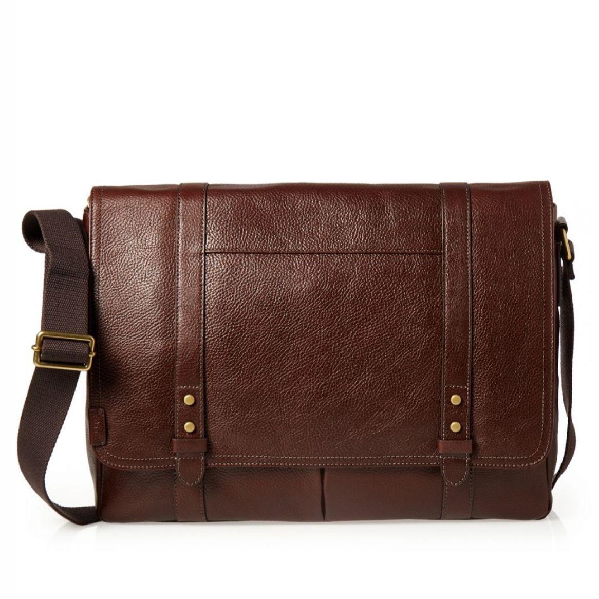 Fossil Travis Messenger Bag – Brown, SBG 1130200