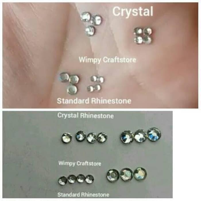 PROMO - Crystal Rhinestone AAAAA 2.4mm Swarovski Diamond kristal Crystal