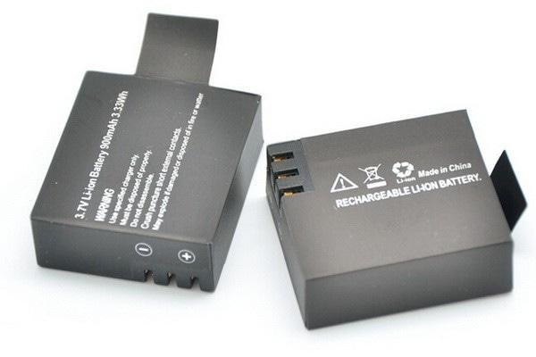Baterai SportCam - ACTION CAM - SJCAM - SJ4000 - BRICA - KOGAN