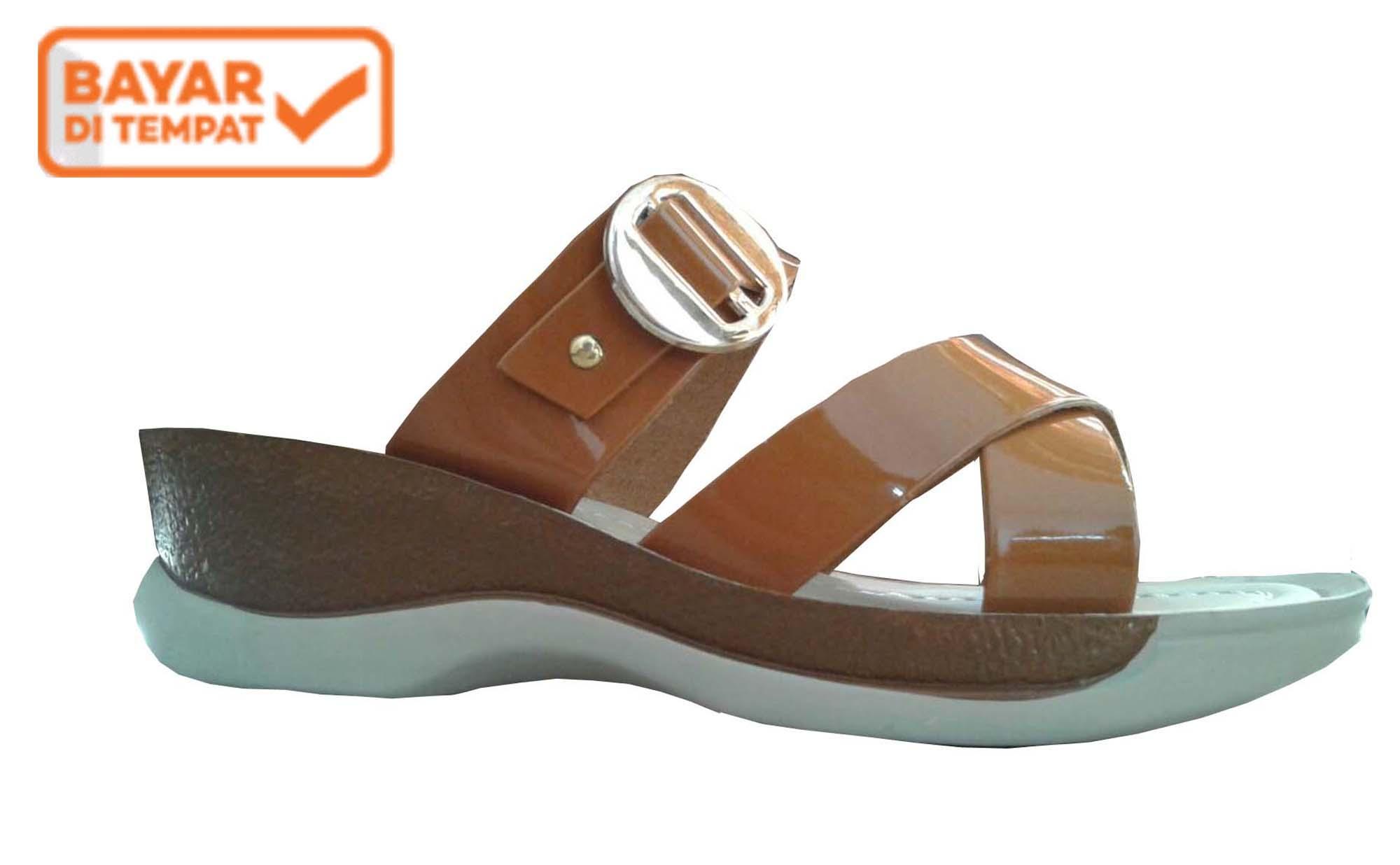 Buy Sell Cheapest Sandal Casual Wedges Best Quality Product Deals Sepatu Wanita Moca Tali Diky Noval Selop