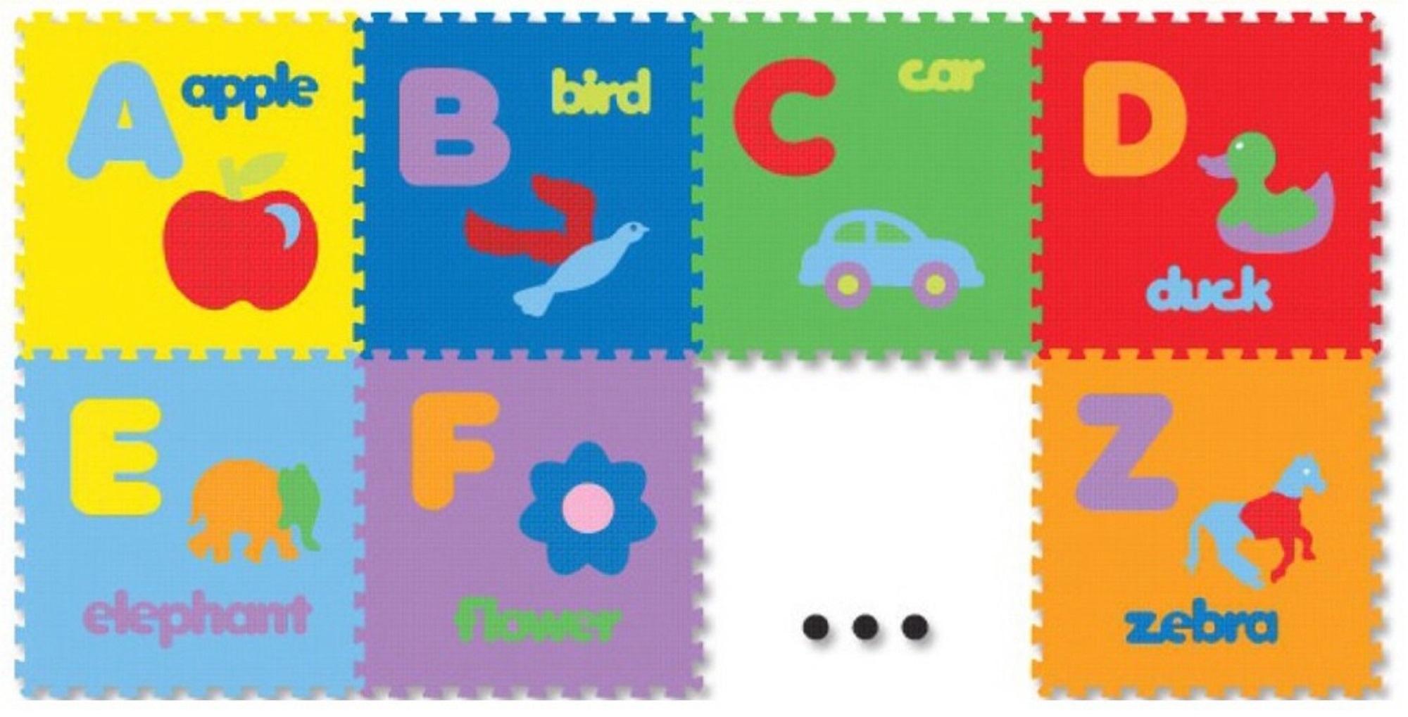 Jual Karpet Puzzle Evamat Terbaru Tikar Duduk Evamate 120cm X 200cm Alas Lantai Modern Matras Bermain Anak Alphabet Abjad Gambar