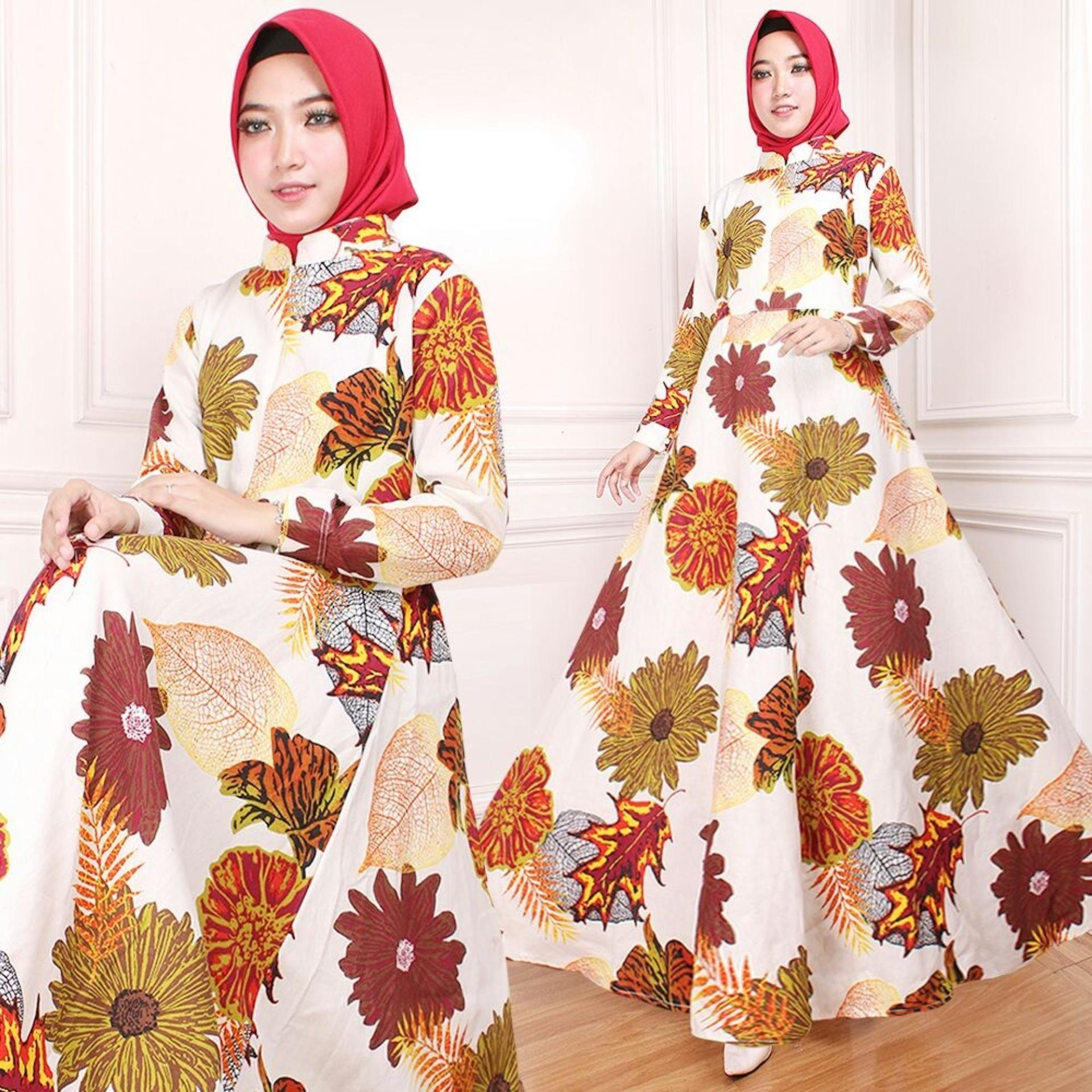 Vrichel Collection Maxi / Dress / Gamis / Syari / Maxi Dress Indah