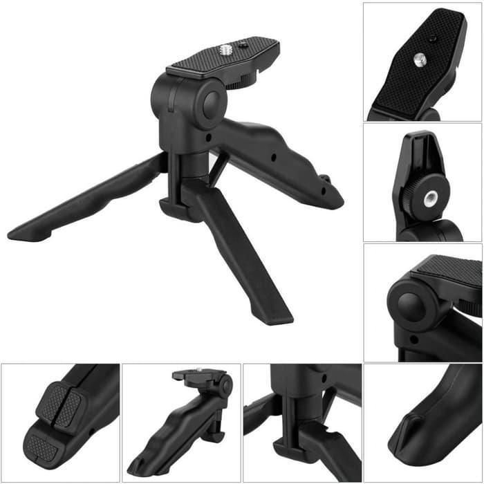 Tripod Mini Foldable 2 in 1 untuk DSLR/ handphone - Tripod Murah - Tripod & Stabillizer - Best Quality