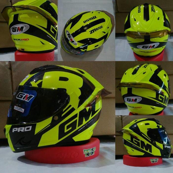 helm kyt / helm bogo / helm full face / helm ink / helm sepeda /helm motor/helm nhk/helm retro/helm anak/helm gm spoiler GM Race pro